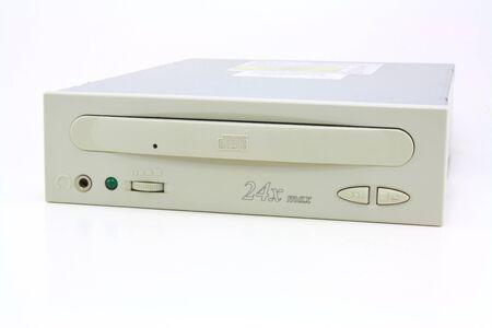 cd rom: Old internal CD Rom Drive (front view)