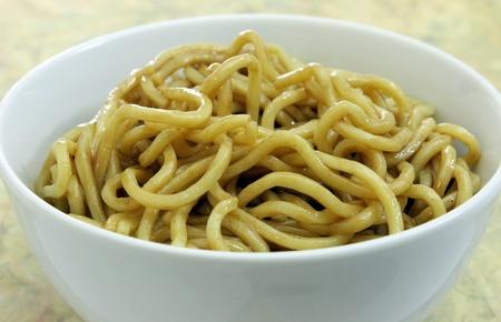 Cold Sesame Noodles in a Bowl
