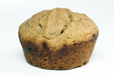 banana bread: Banana Bread Mini Muffin Stock Photo