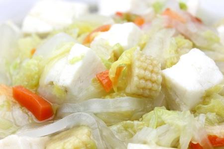 Tofu Soup Stock fotó