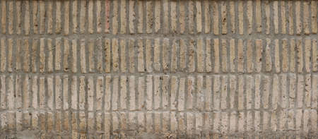 wall with vertical bricks - regular and well aligned bricks background Reklamní fotografie