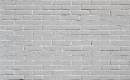 Backsteinmauer weißer Hintergrundtextur, aus einem Neubau