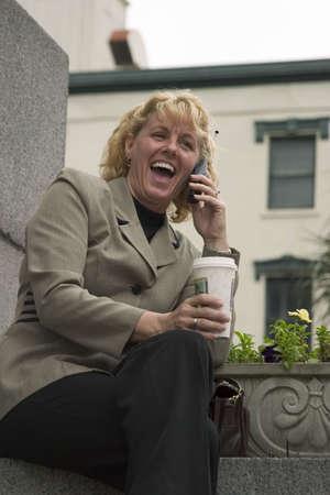 Woman on cell phone 2 Stock fotó - 340727