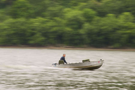 panning boater