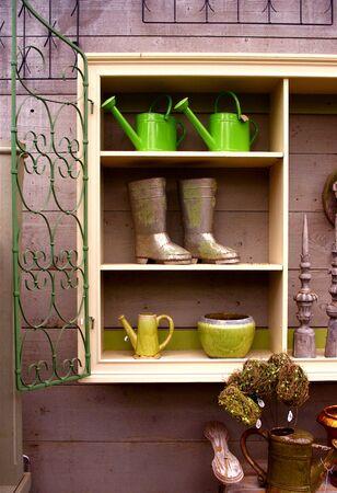 shop display: Garden Shop Display