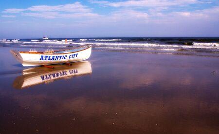 atlantic city: Atlantic City Lifeguard Boat