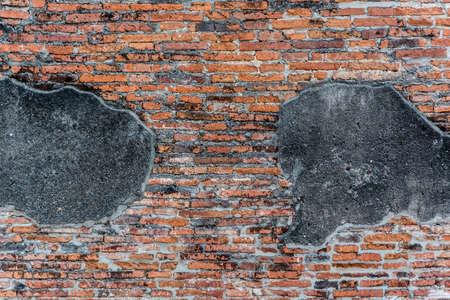 wall pattern: Ancient brick wall