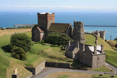 feudal: Dover castle England UK Editorial