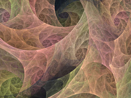 vortices: An abstract computer generated modern fractal design on dark background. Abstract fractal color texture. Digital art. Abstract Form & Colors. Abstract fractal element pattern for your design. Autumn vortices