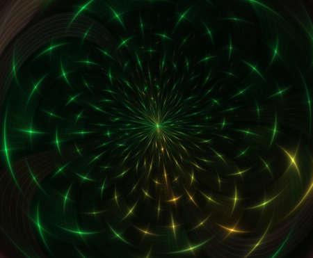 Abstract fractal composition. Motion illustration for design. Fractal Big Bang Background Fractal Art