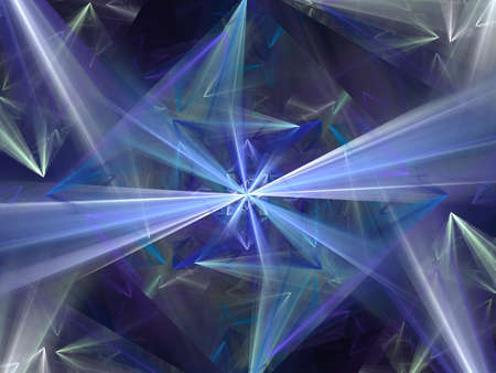 Beautiful diamond. 3d illustration, nice abstract background. Concept new technology and dynamic. Diamond prism. Polygonal crystals.