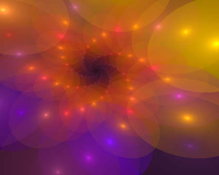Abstract spiral background with luminous swirling parts. Glowing spiral. The energy flow tunnel. shine round frame with light circles light effect. glowing cover. Space for your design