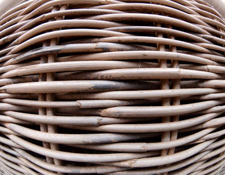 fish eye lens: Basket weave texture made with sticks fish eye lens