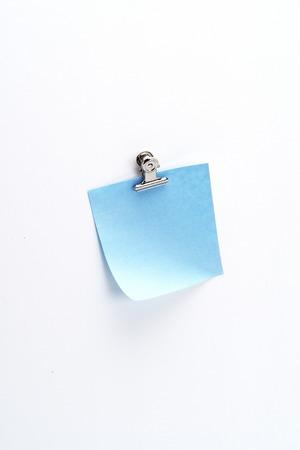 Blue Sticky Note 2 Banco de Imagens