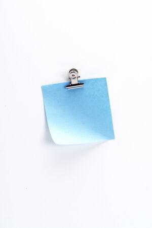 Blue Sticky Note