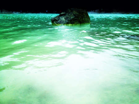 sulfur: Rock and sulfur water