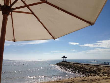 nusa: Beautiful beach at nusa dua bali