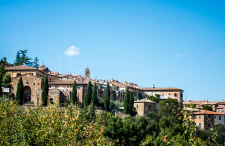 agriturismo: View over the toscany from the Top of San Gimignano 2
