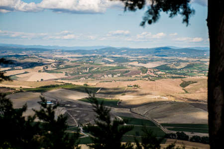 agriturismo: View over the toscany from the Top of San Gimignano 5