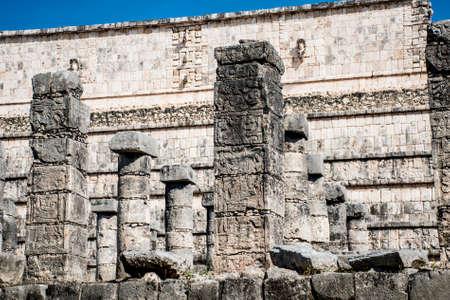 Mexico maya yucatan Chichen Itza ruins 5 写真素材