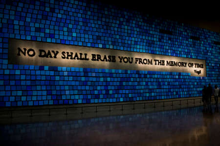 9 11: 9 11 National Memorial in New York City United states 25.05.2014