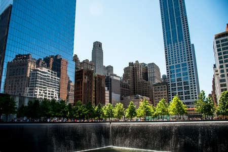 9 11 National Memorial in New York City USA Stock Photo