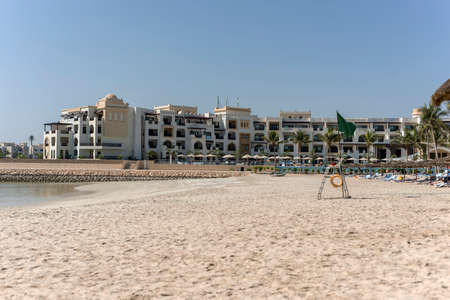 musandam: Sultanate of Oman Souly Bay Beach and Hotels Oceanside 4