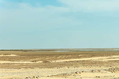 fata morgana: mirage in the oman Desert fata morgana dra dhofar region
