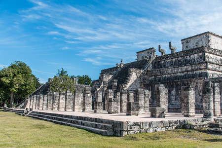 Mexico maya yucatan Chichen Itza old ruins 34