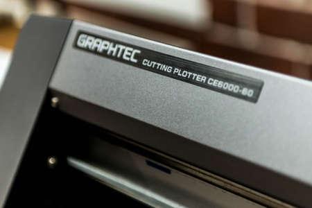 Graphtec Digital printing system plotter for printing a wide range of superwide-format applications foils