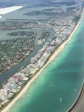 indian creek: Miami Beach aerial view - July 2015
