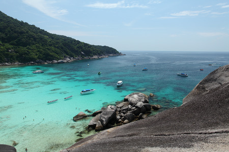 similan islands: Similan Islands at Phuket Thailand Stock Photo