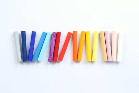 oil pastels: Oil Pastels Stock Photo