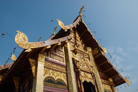 the royal park: Ho kham luang Royal Park Rajapruek Chiangmai Thailand Stock Photo