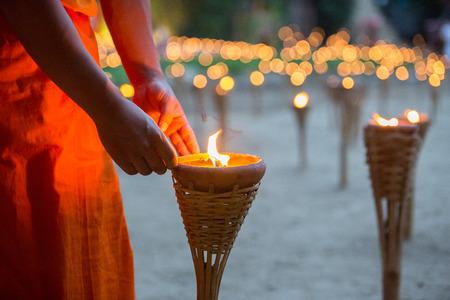 yeepeng: Floating lantern YeePeng Festival in Chiangmai Thailand