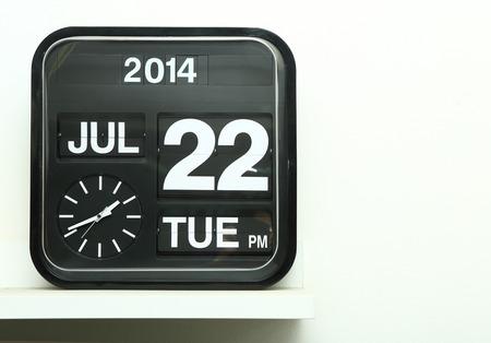 Flip clock photo