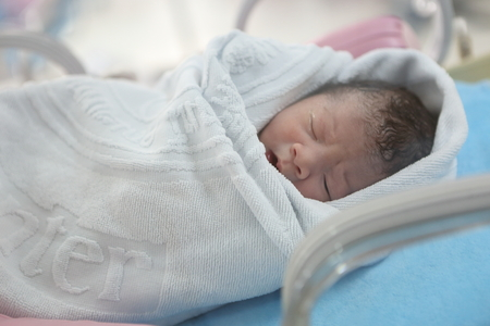 Baby at the hospital