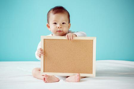 Zuigelingskind lege raad studio-opname