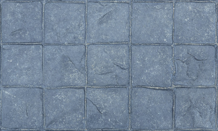 stamped: Gray stamped concrete flooring texture in natural patterned for background and design