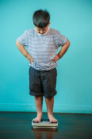 Fat Boy, gesund und Gewicht verlieren Konzept