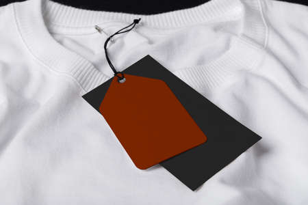 Label Tag mockup template for black friday