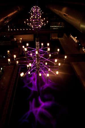 dancefloor: Lounge dancefloor with candles