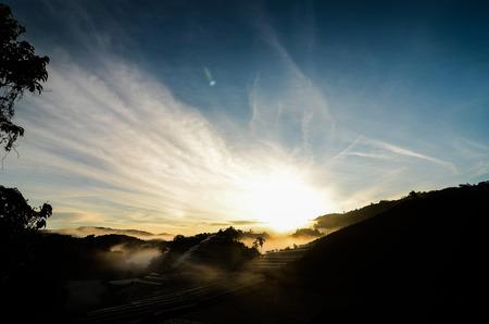 Sunrise in Cameron Highland