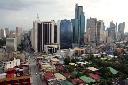 Makati City in manila Standard-Bild