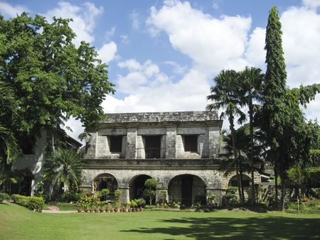 fort san pedro in the centre of cebu city in the philippines, built by the spanish in 1565