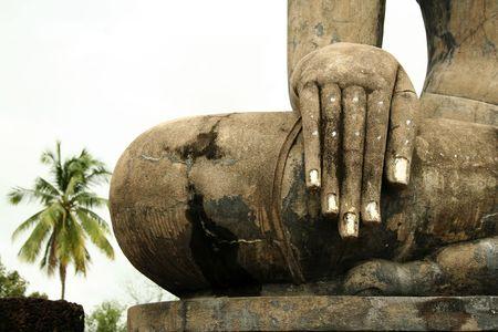 Antike Stadt von Sukothai in thailand Standard-Bild - 6579399