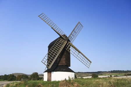 the oldest windmill in england in pitstone hertfordshire photo