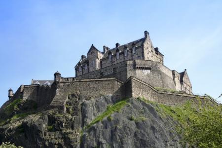 Historische EICC gebaut am erloschenen Vulkan im Zentrum der Hauptstadt Schottlands Standard-Bild - 7380607