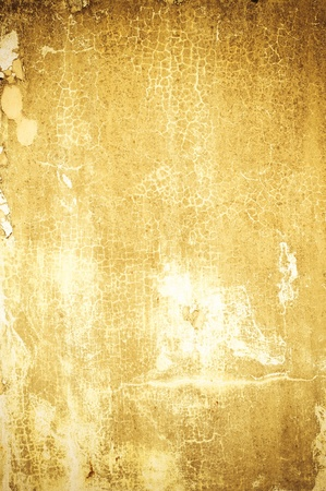 discolored: background of old satined concrete wall discolored and peeling