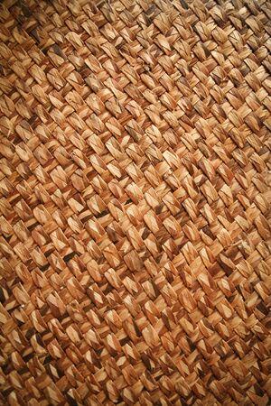 dauerhaft: natuve Stil gewebt ratten mat starken und dauerhaften nat�rlichen Material f�r Wand-und Bodenbel�ge in den Philippinen verwendet